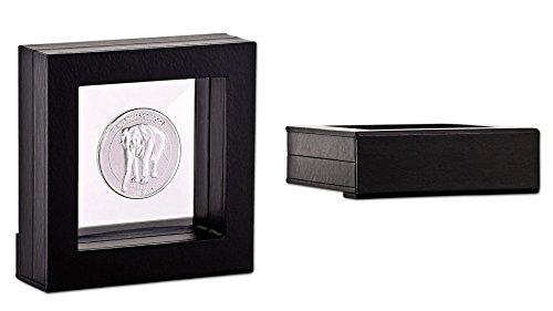 Marco para objetos, con membrana de silicona, 10 x 10 x 3 cm