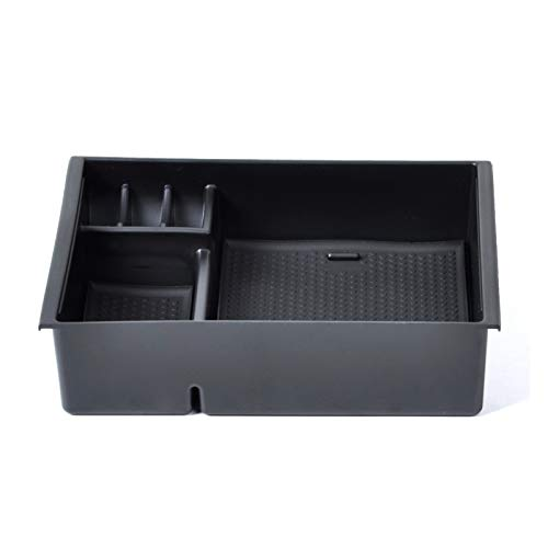 Rumors Caja De Almacenamiento De La Consola De La Consola del Escondite Secundario Guante Organizador De La Bandeja FIT FOR Mazda 3 AXELA 2013 2014 2015 2016 2017 2017
