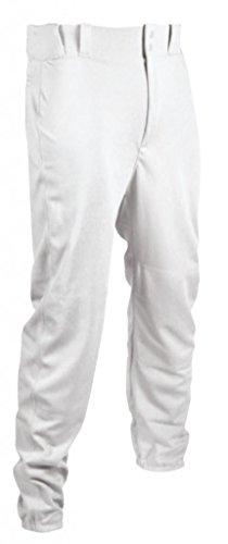 TAG Jugend Baseball Hose mit Gürtelschlaufen (elastische Hose), Jungen, weiß, 3X-Large