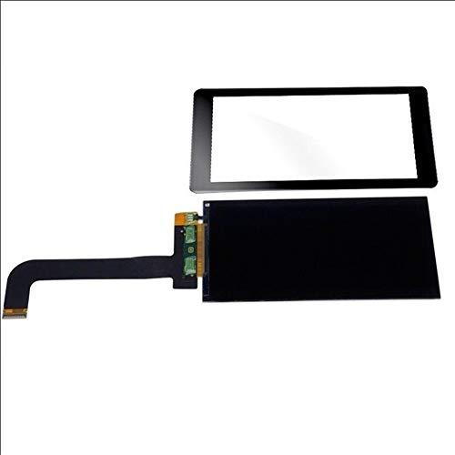 Kit de reemplazo de pantalla 5,5 pulgadas LCD 2K LS055R1SX03 2560 * 1440 en forma for el Wanhao duplicador de D7 3D de la pantalla LCD de la impresora Panel kit de reparación de pantalla de repuesto