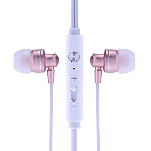 domybest Kontrolle kabelgebunden 3,5mm Mega Bass In-Ear-Kopfhörer mit Mic für iPhone Android