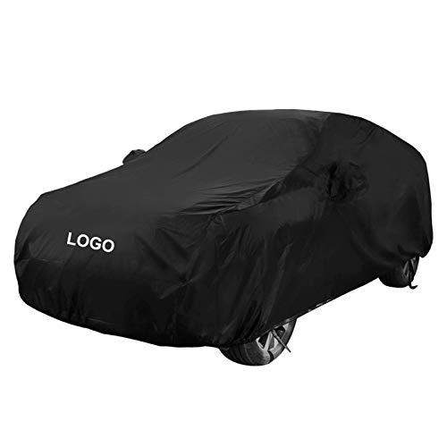 Car Cover Compatible with Honda Civic Si, Waterproof Full Car Cover Rain Snow Resistant All Weather Protection Car Cover Scratch Resistant Outdoor with Reflective Strips 2015 B(2017,A)