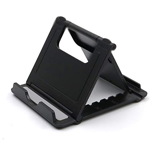 Vfr Mobile Phone Desktop Bracket Tablet Portable Adjustable Angle Compact Carry-on Foldable Simple Small Bracket Card Lazy Base Support Shelf 8.5 7cm (Color : B, Size : 8.5 7cm)