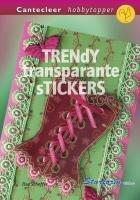 Trendy transparante stickers / druk 1 (Cantecleer hobbytopper)