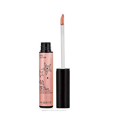 The Body Shop Matte Lip Liquid Metal, Rose Gold, 0.2 Fluid Ounce