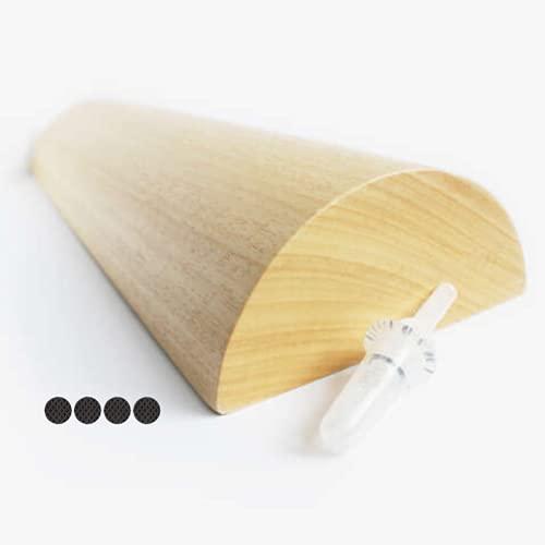Tronco propioceptivo de madera de pino e insuflador Winner Flow: Metodo 5P para pilates y yoga: fortalece el suelo pélvico, realiza ejercicios hipopresivos para fortalecer abdominales y musculatura