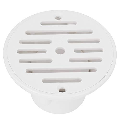 Changor Drenaje de piscina, drenaje principal suave con PVC, fácil de usar para el suministro de agua y volumen de agua ajustable, conveniente y práctico (blanco)
