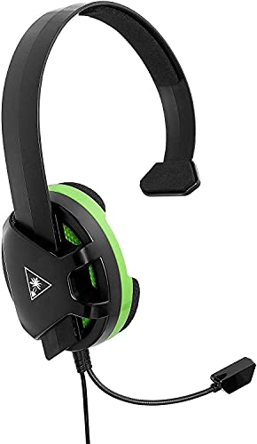 Turtle Beach Recon Chat Xbox Headset for Xbox Series X, Xbox Series S, Xbox One, PS5, PS4 Pro, PS4, PlayStation, Nintendo Switch, Mobile, & PC with 3.5mm – Glasses Friendly, High-Sensitivity Mic - Black