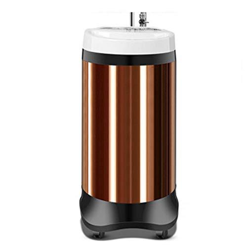 Middle máquina De Baño Vertical Móvil,Máquina De Baño Inteligente,Diseño de Cuerpo Compacto,El baño se calienta hasta 55 ℃,Rueda Universal de 360 °,para el baño