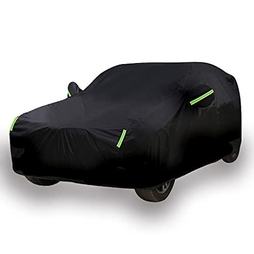 SjYsXm Funda para Coche Compatible con BMW X5(2007-2021) X6(2008-2021) X5 M(2009-2021) X6 M(2009-2021) SUV, Impermeable Exterior Cubierta de Coche Lona para Coche Transpirable con 6 Tiras Rflectante