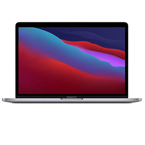 """Apple MacBook Pro 13.3"""" with Retina Display, M1 Chip with 8-Core CPU and 8-Core GPU, 16GB Memory, 512GB SSD, Space Gray, Late 2020"""