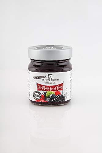 To Filema Tis Lelas Sin azúcar añadido mermelada Frutas del Bosque 240 g, Paquete de 2