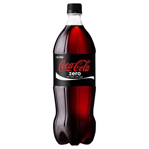Coca-Cola Zero 1,25L (pack de 6)