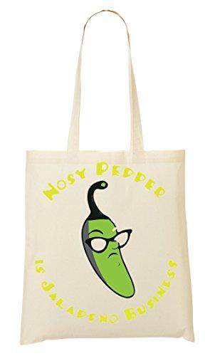 C+P Nosy Pepper It'S Jalapeno Business Tragetasche Einkaufstasche