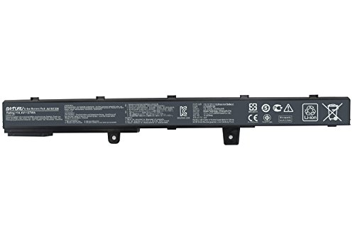 Baturu New 4 Cell A31n1319 A41n1308 Laptop Battery for Asus X551 X551c X551ca X551m X551ma X551mav-rcln06 X551ma-rcln03 X551mav-eb01-b - 14.4V 37WH