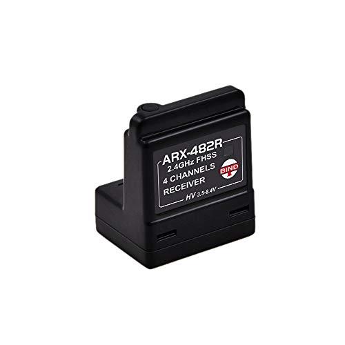 ARX-482R 4CH FHSS Internal Antenna Receiver Compatible with FH3/FH4T (ARX-482R)
