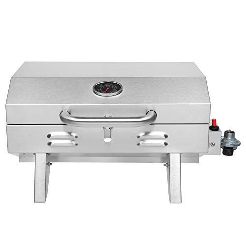 ROVSUN Portable Propane Gas Grill 12,000BTU, Tabletop Outdoor...