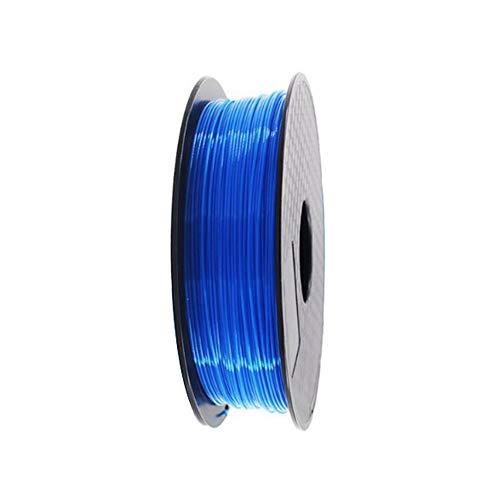 Jroyseter Impresora 3D de filamentos Profesional de Alta precisión PLA filamento 1.75mm 1 kg de consumibles de Impresora de Cola 3D para 3D Impresora y Pluma de 3 Colores Disponibles (Blue)