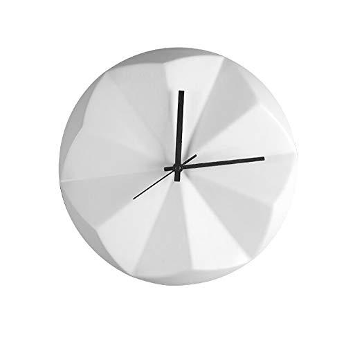SGSG Nordic minimalistische Persönlichkeit und Moderne Wanduhr Origami Uhr Keramik Wohnzimmer, Küche, Schlafzimmer