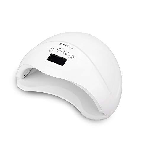 Sèche-linge UV, 48W LED professionnel sèche-lampes à ongles avec minuterie automatique Écran LCD, avec base amovible, cadeau d'art de lumière sèche à ongles UV pour femmes filles (30-99s)