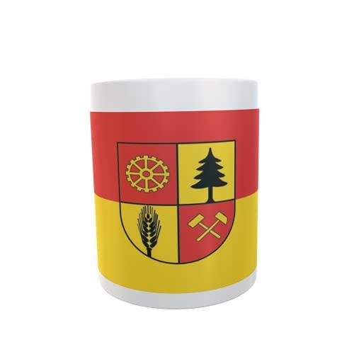 U24 Tasse Kaffeebecher Mug Cup Flagge Freital