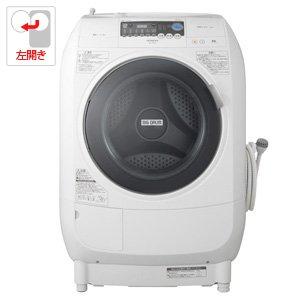 日立 9.0kg ドラム式洗濯乾燥機 【左開き】ピュアホワイトHITACHI ビッグドラム BD-V1500L-W