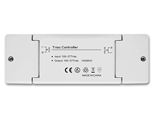 230V controlador controlador regulador dimmaktor zigbee, compatible con Philips Hue® y OSRAM LIGHTIFY®
