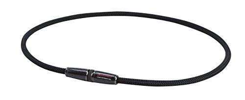 ファイテン(phiten) ネックレス RAKUWA ネックX100 カーボン ブラック 50cm