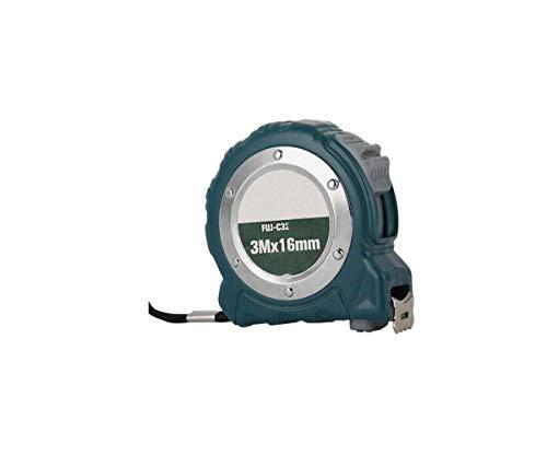 HYY-YY Cinta métrica de Acero, de 3 Metros de Alta precisión métrica Pulgadas Cinta métrica, Mini Home Office Regla de medición 3 Metros 16 mm Estable Permanente (Color: Azul Oscuro, tamaño: 16 mm *
