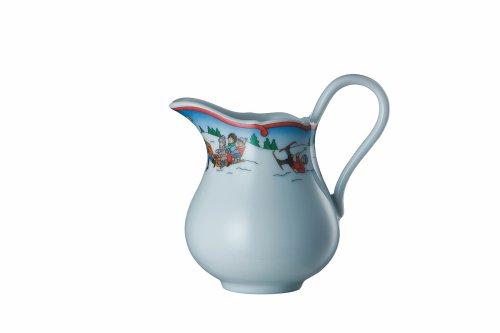 Hutschenreuther Milchkännchen für 6 Pers, Form: Maria Theresia, Winterspaß