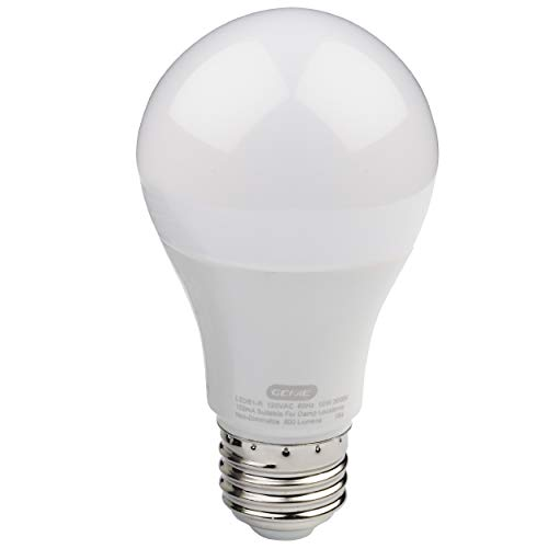 photography light bulbs home depots Genie Light Bulb-60 Watt (800 Lumens) -Made to Minimize Interference (Compatible with All Major Brands) – LEDB1-R LED Garage Door Opener Bulb, 1 Pack