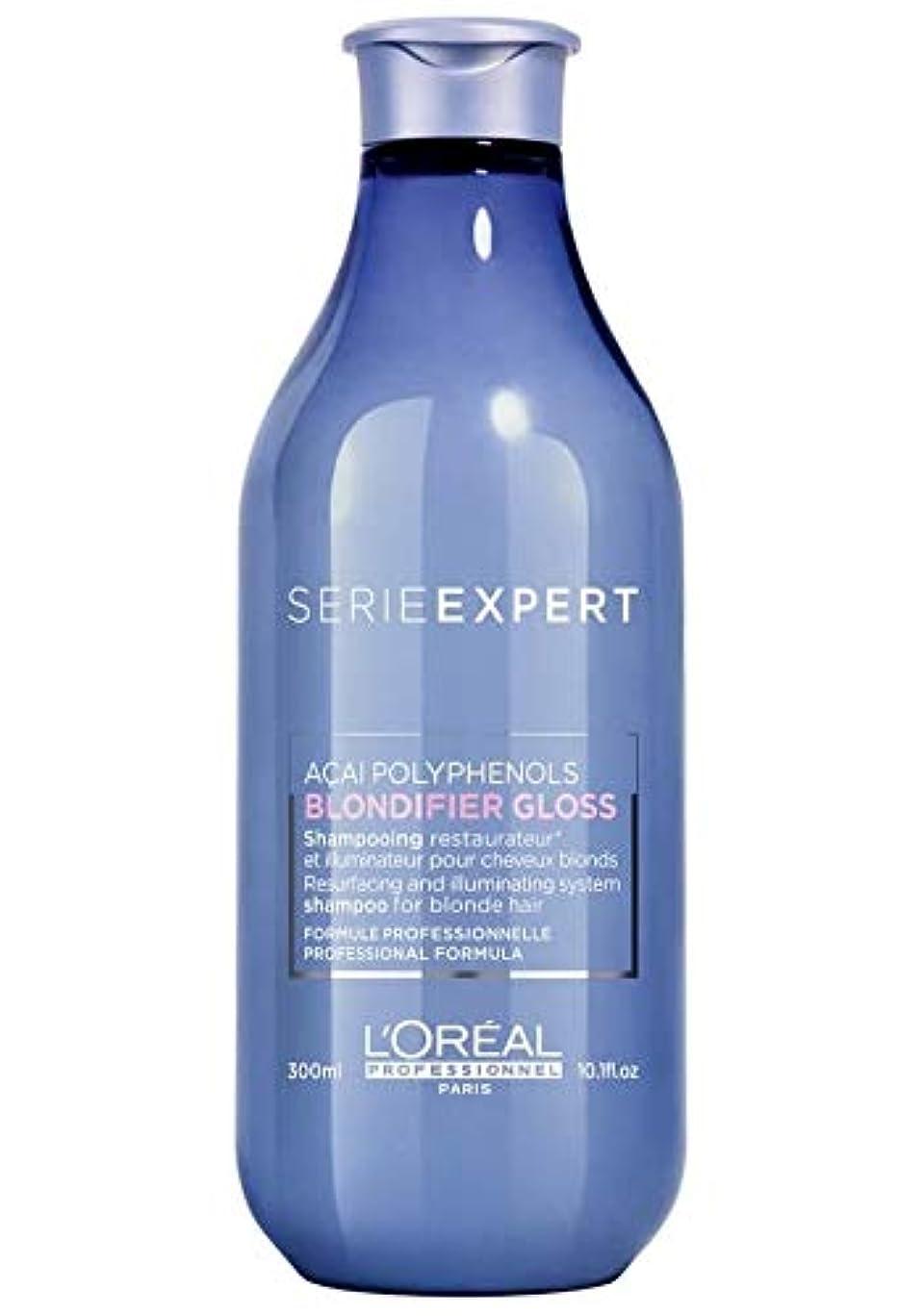 ロレアル セリエ エクスパート ブロンディファイア グロス シャンプー L'Oreal Serie Expert Blondifier Gloss Shampoo 300 ml [並行輸入品]