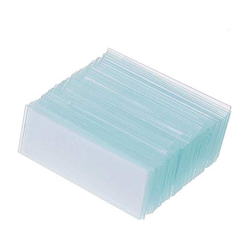 Dukal Pack of 72 Glass Microscope Slides 3' x 1' Double Frosted Transparent Micro Slides. Frost Microscope Blank Slides. Scientific Laboratory Clear Slides for Microscope