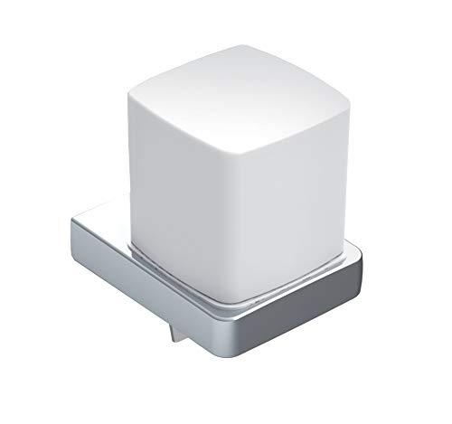 Emco Trend Seifenspender für Flüssigseifen, Inhalt 155ml, Kristallglas/chrom, Flüssigseifenspender – 022100101