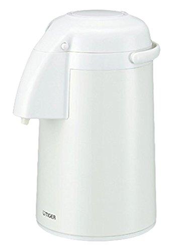 タイガー 魔法瓶 保温 保冷 卓上 ガラス魔法瓶 エアー ポット 2.2L とら~ず ホワイト PNM-H221-WU Tiger