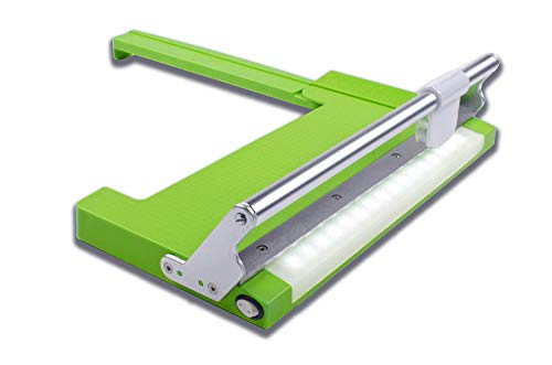 Cutterpillar Lightweight and Portable Crop Precision Paper and Photo Trimmer with Bright LED Backlighting