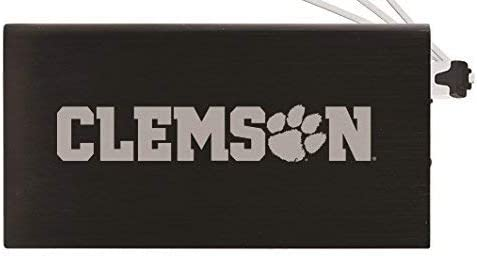 SALENEW very popular! 8000 mAh Portable Cell Charger-Clemson Recommended -Black University Phone
