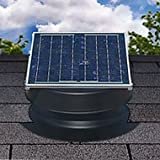 Industry Leading 25-year limited warranty on entire unit. Highest quality materials in any Solar Attic Fan on the market. Easily installed with No wiring required. Optional snap-on thermostat for use in colder climates (sold separately). All necessar...