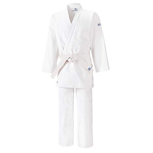 Mizuno Kodomo 2 con Belt Judo Judogi Blanco, Bianco, 120