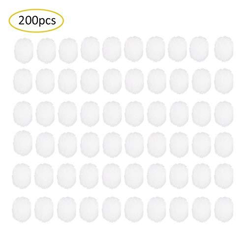 Lot de 200 accessoires jetables en coton pour aspirateur nasal