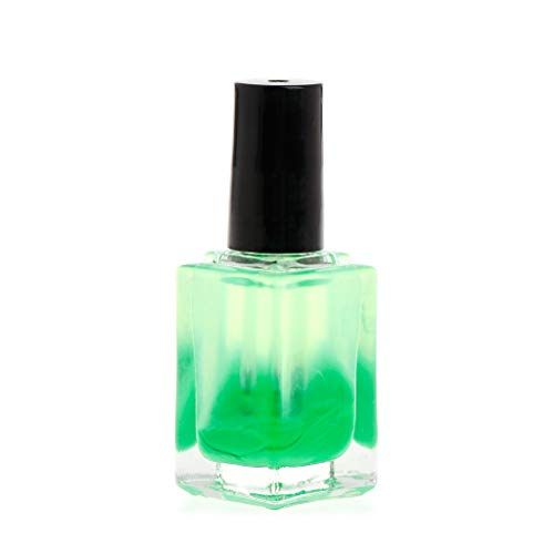 Lergo DIY-Fischschwimmerfarbe, flüssige Fluoreszierende Farben, professionelle Indikator-Reparatur, verdünntes Zubehör, Ölfarbe Einheitsgröße grün