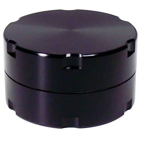 DIPSE 40mm Alu Grinder 2-Teilig aus CNC gefrästem Aerospace Aluminium - Für den Gebrauch von Kräuter- und Tabakwaren