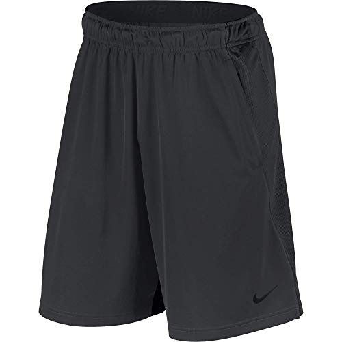 Nike Men's Dry Training Shorts, Anthracite/Anthracite/Black, X-Large