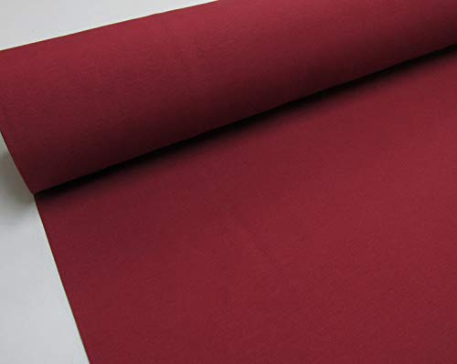 Confección Saymi - Metraje 2,45 MTS. Tejido loneta Lisa Nº 133 Rojo Burdeos con Ancho 2,80 MTS.