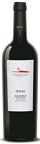 6x 0,75l - 2017er - Vigneti del Vulture - Pipoli - Aglianico del Vulture D.O.C. - Basilicata - Italien - Rotwein trocken