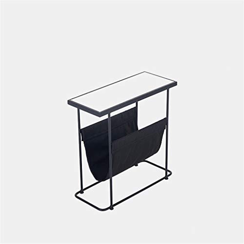 C-Bin1 Multifunctionele Magazine Rack, met opbergtas Beperk rechthoekige salontafel huis slaapkamer Book Room Desk Bookshelf comfort (Color : B, Size : 60 * 25 * 55CM)