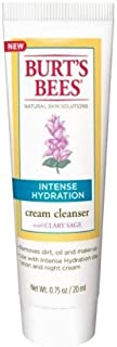 Burt's Bees - Cream Cleanser Intense Hydration with Clary Sage (Pack of 2) (0.75oz)
