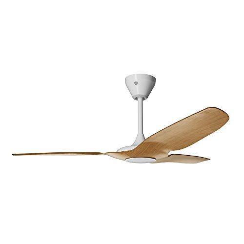 Big Ass Fans L3127 X5 PW 00 02 E F533 S34 V03 Haiku L Smart Ceiling Fan, 52 , Caramel White