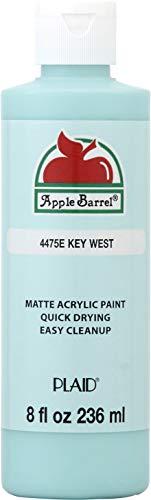 Apple Barrel Acrylic Paint, 8 Ounce, Key West 8 Fl Oz