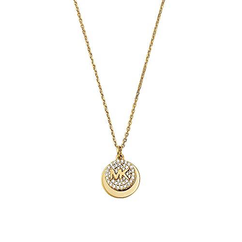 Michael Kors - Collar Premium de Plata esterlina en Tono Dorado con para Mujer MKC1515AN710